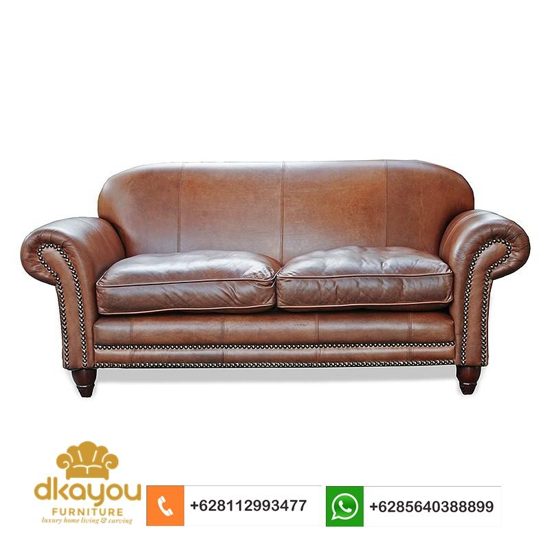sofa kulit asli