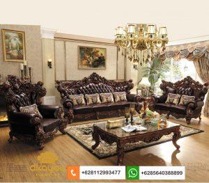 Set Sofa Mewah Klasik Eropa Jati Jepara SSRT261