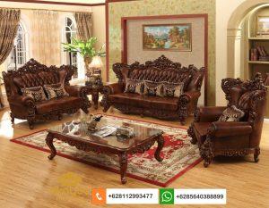 Sofa Tamu Mewah Classic Mebel Ukir Jepara SSRT263